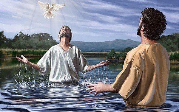 Batismo nas Águas x Batismo com o Espírito Santo