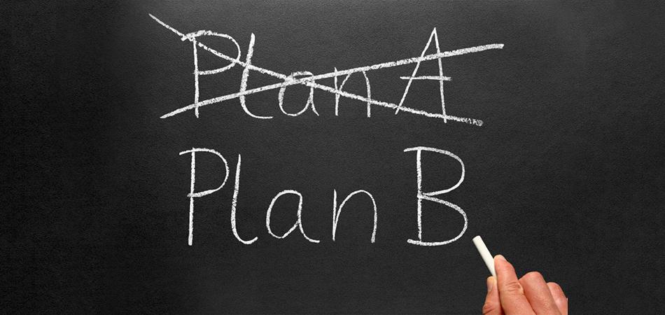 Não existe plano B