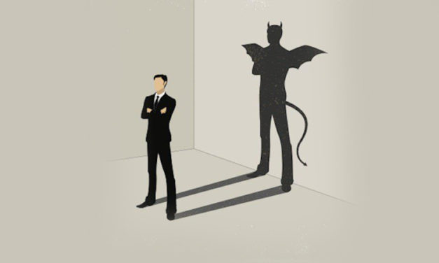 See the devil, not the person