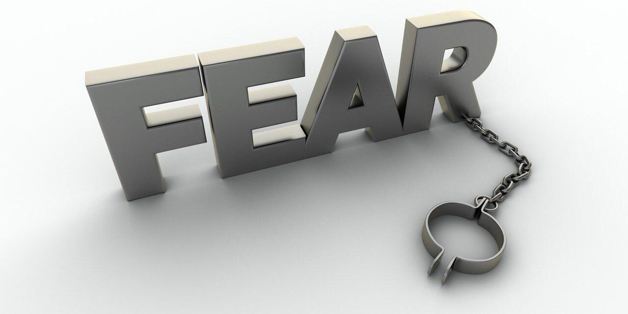 Não viva com medo